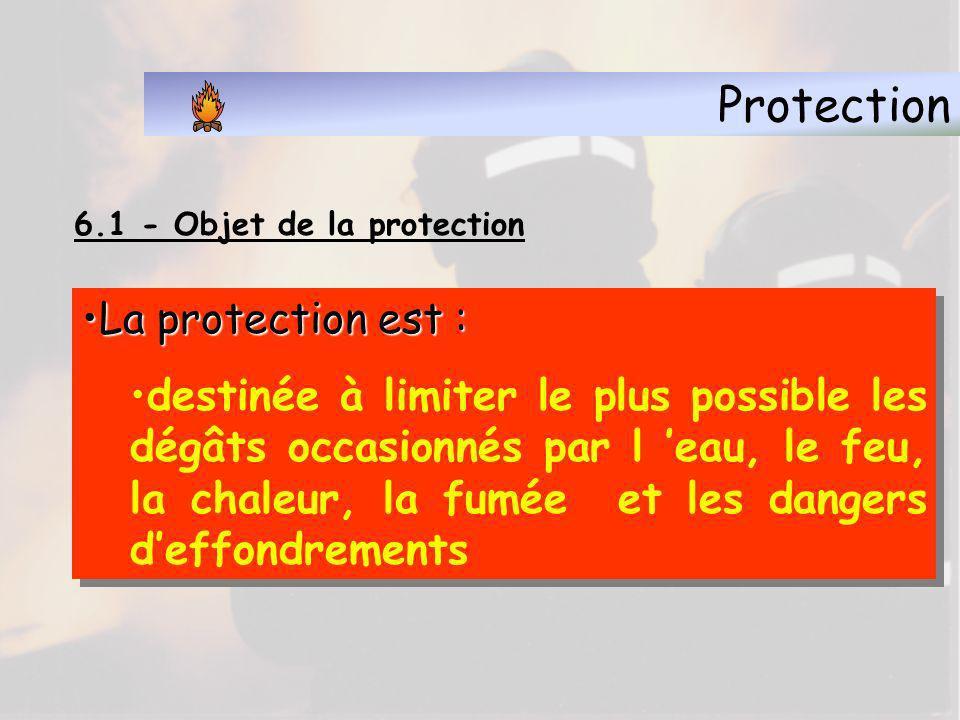 Protection La protection est :