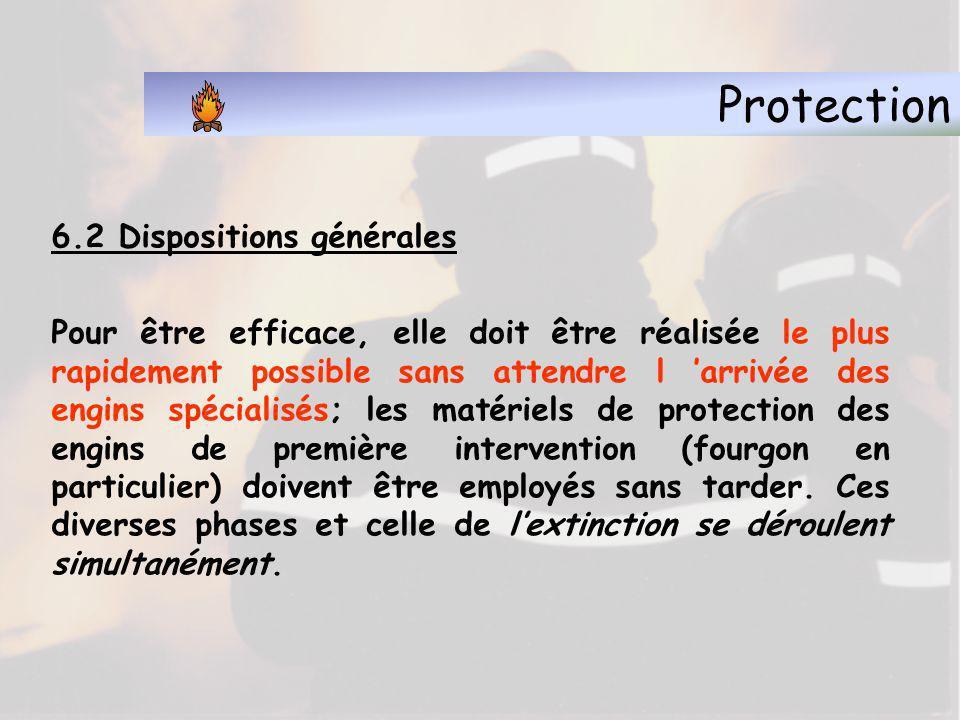 Protection 6.2 Dispositions générales