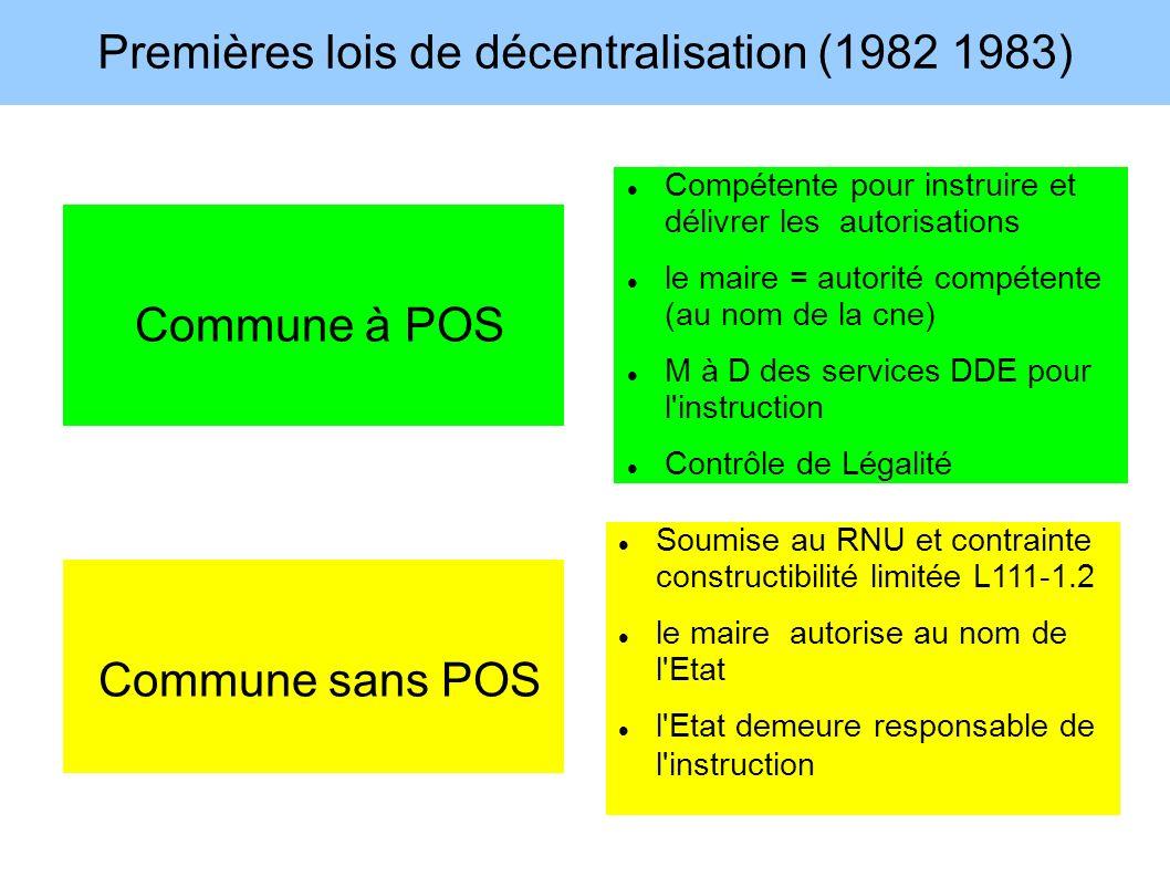 Premières lois de décentralisation (1982 1983)