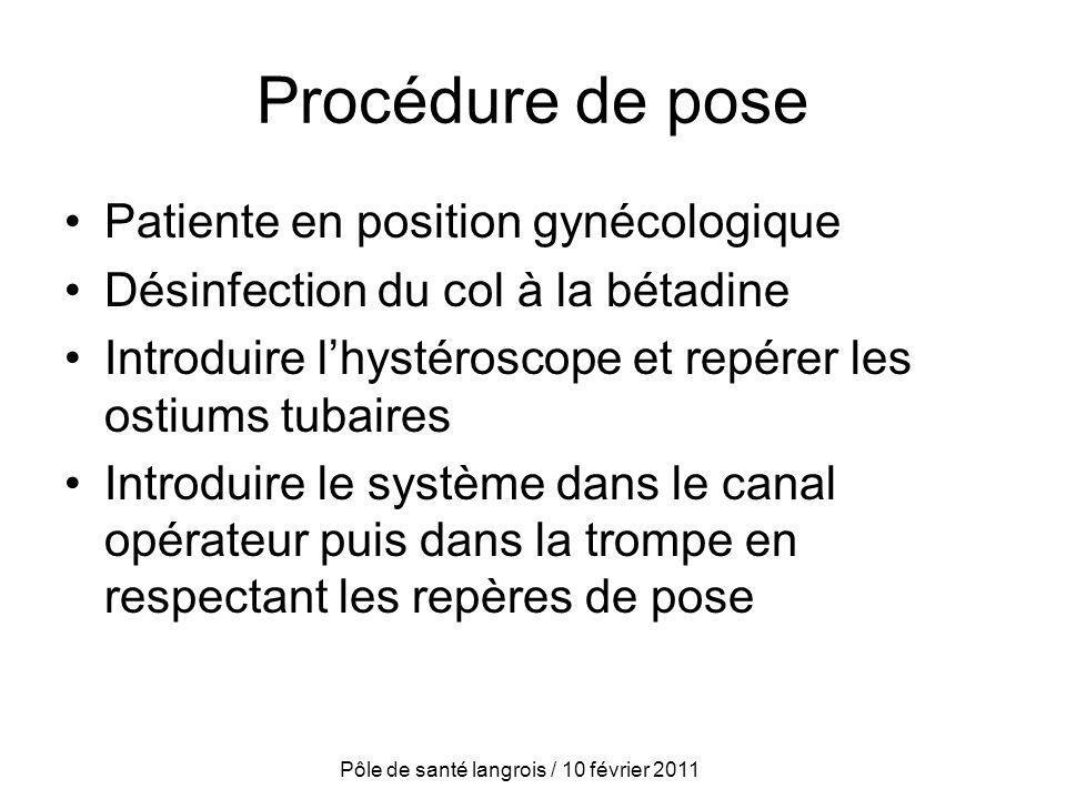 Pôle de santé langrois / 10 février 2011