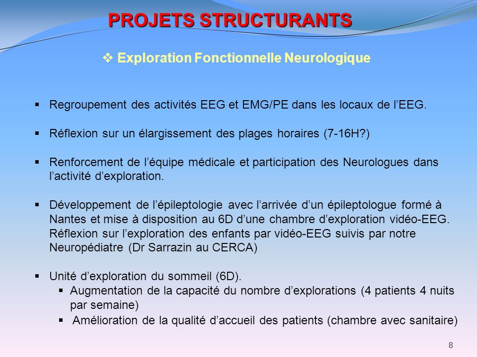 Exploration Fonctionnelle Neurologique