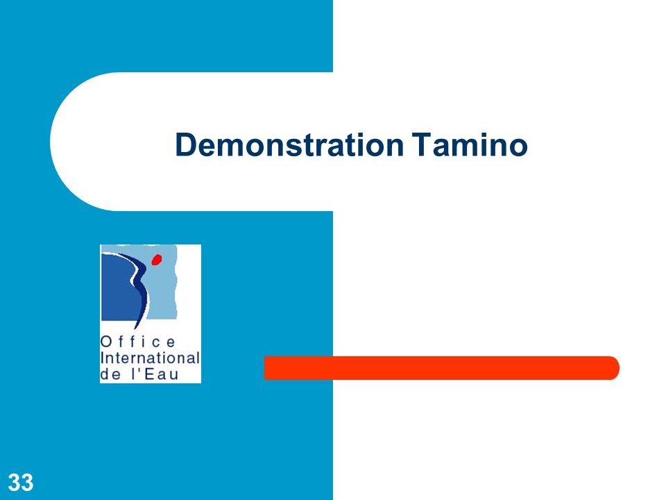 Demonstration Tamino