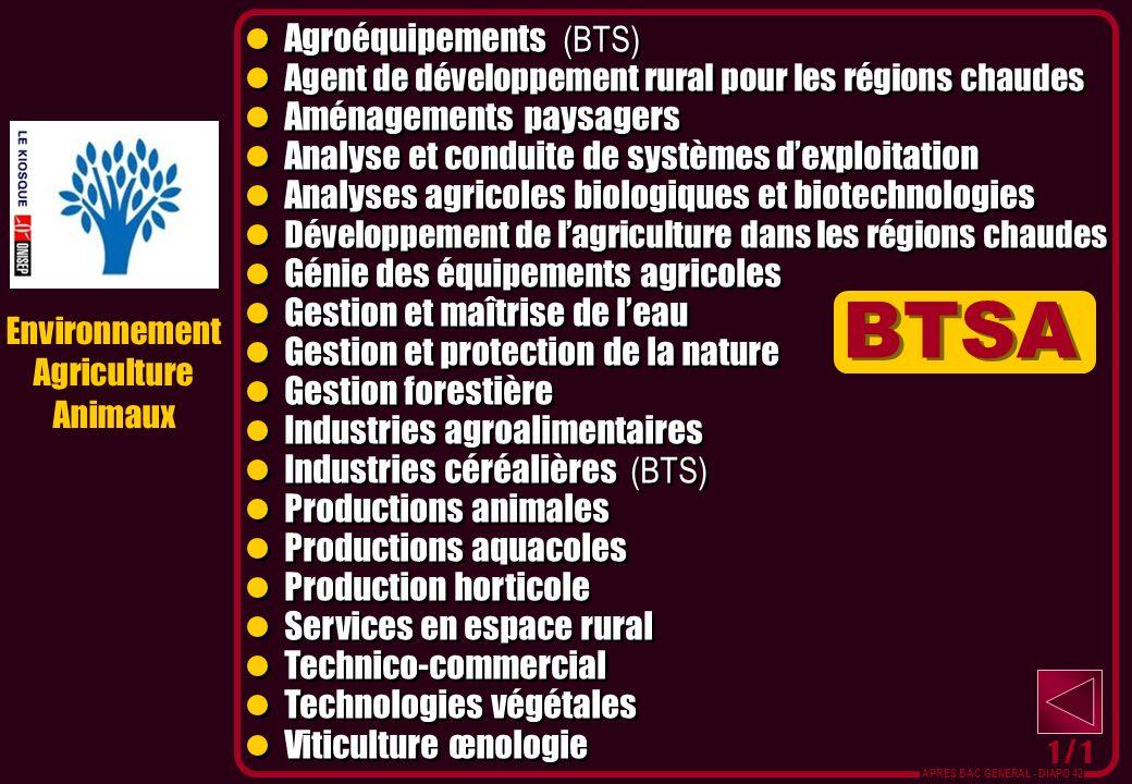 BTSA Agroéquipements (BTS)