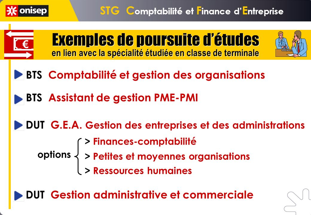STG Comptabilité et Finance d'Entreprise