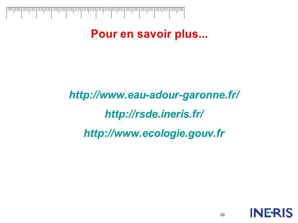 Pour en savoir plus... http://www.eau-adour-garonne.fr/