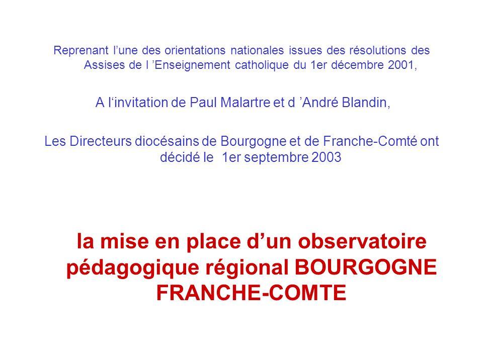 A l'invitation de Paul Malartre et d 'André Blandin,
