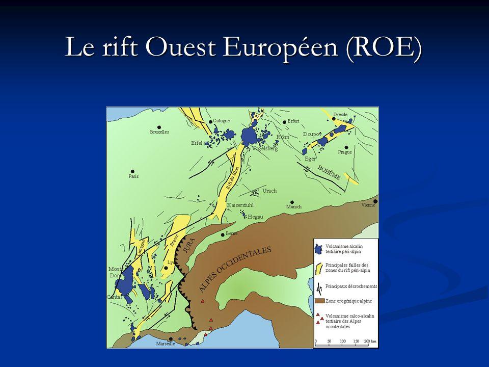 Le rift Ouest Européen (ROE)