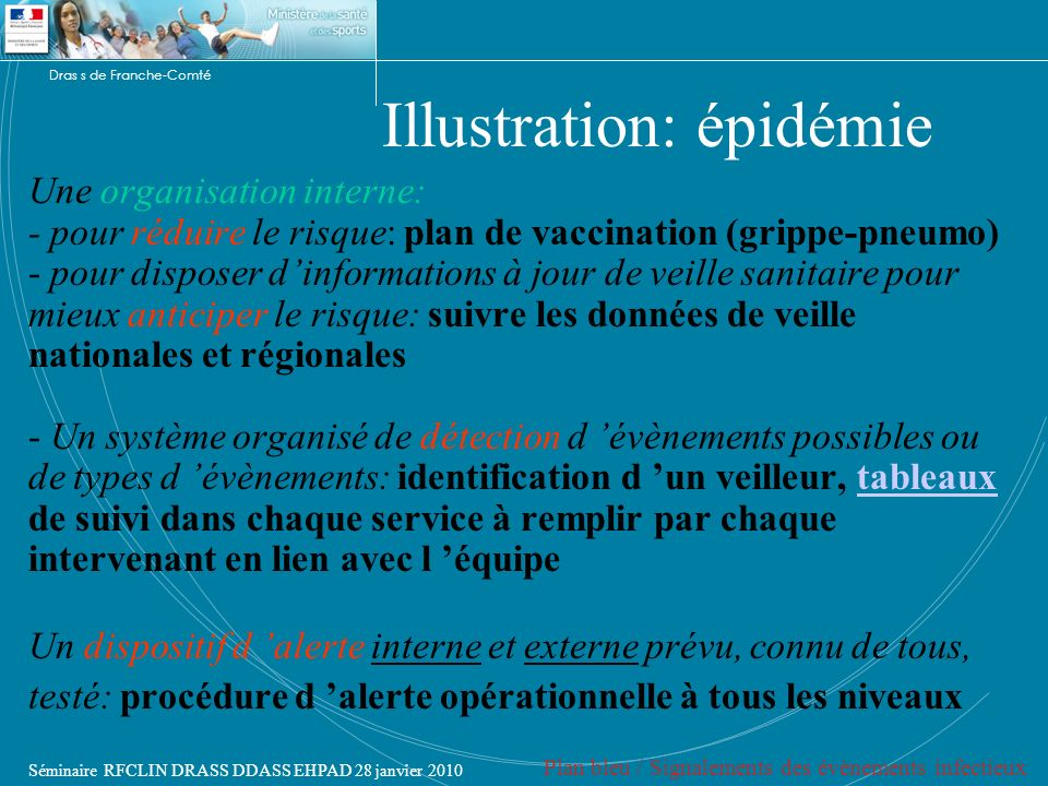 Illustration: épidémie