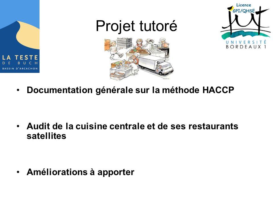 Projet tutoré Documentation générale sur la méthode HACCP