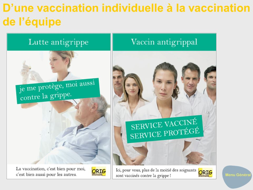 D'une vaccination individuelle à la vaccination de l'équipe
