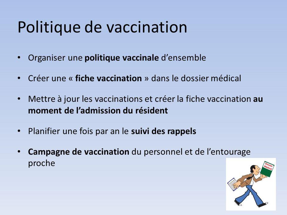 Politique de vaccination
