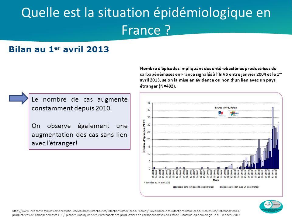 Quelle est la situation épidémiologique en France