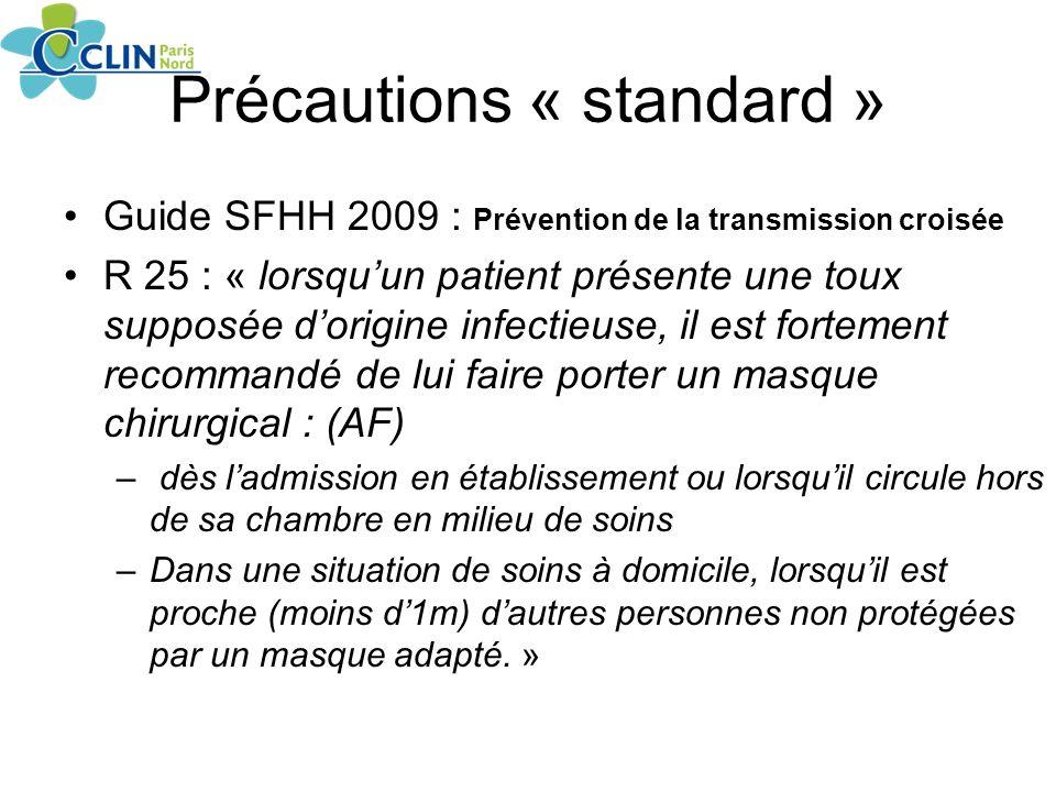 Précautions « standard »