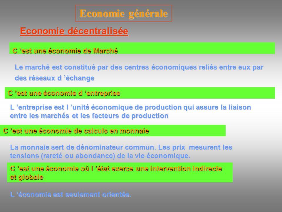 Economie décentralisée