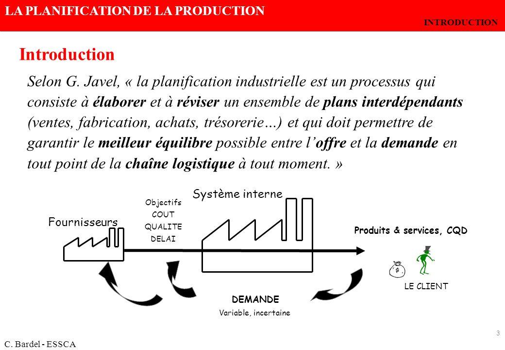Produits & services, CQD