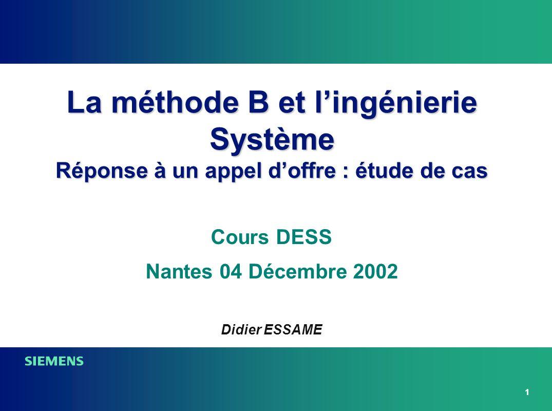 Cours DESS Nantes 04 Décembre 2002