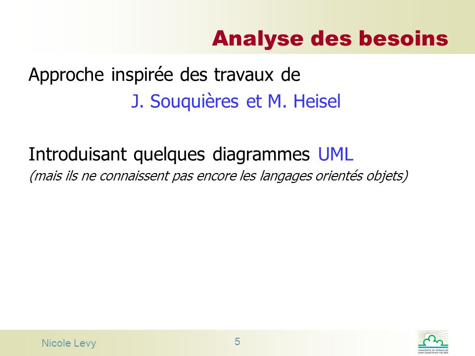 J. Souquières et M. Heisel