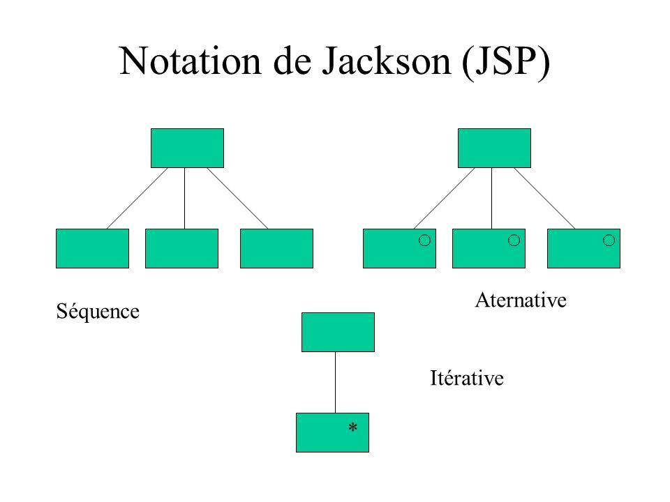 Notation de Jackson (JSP)