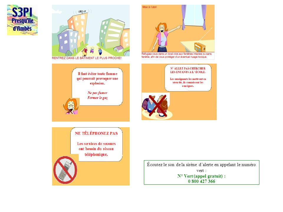 N° Vert (appel gratuit) :