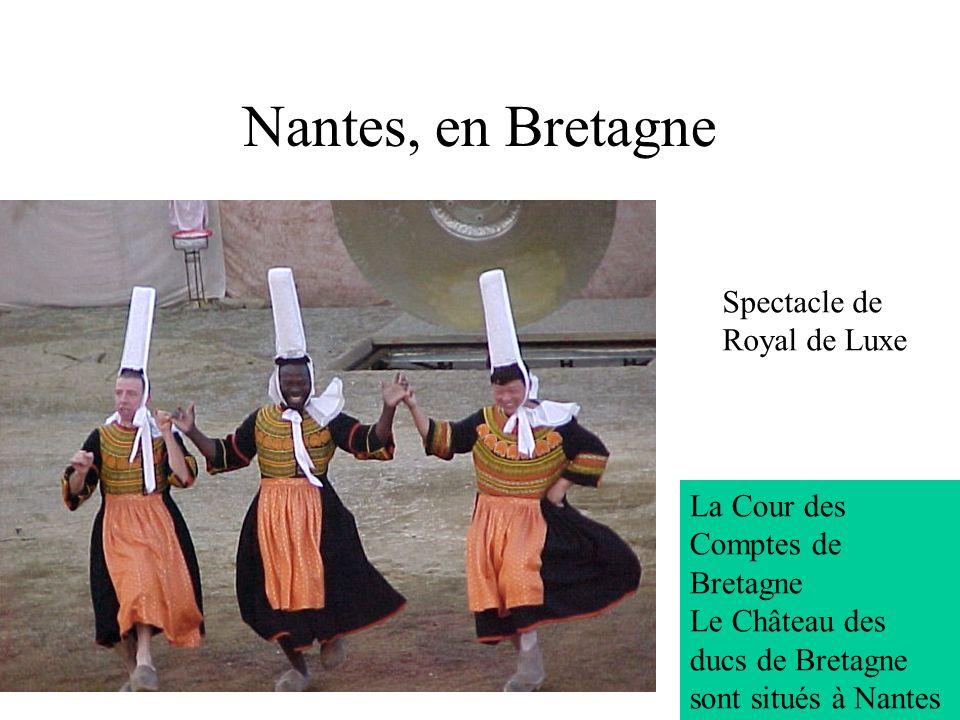 Nantes, en Bretagne Spectacle de Royal de Luxe