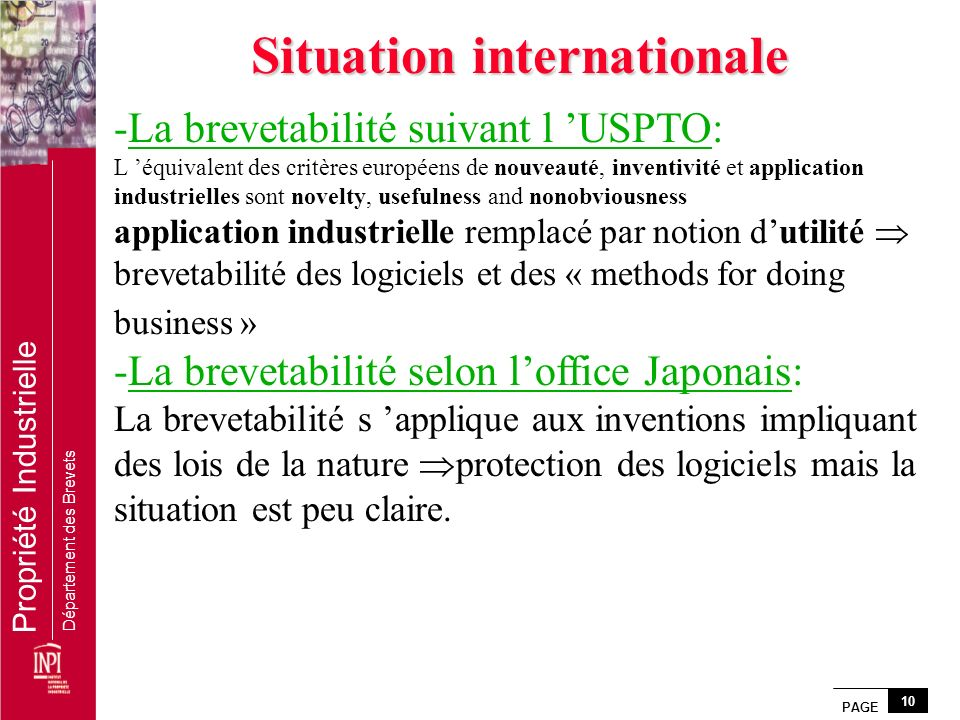 Situation internationale