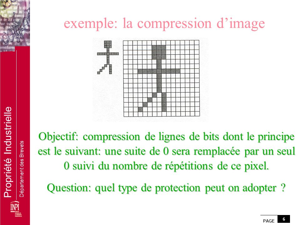 exemple: la compression d'image