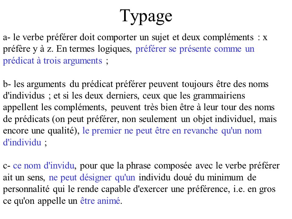 Typage