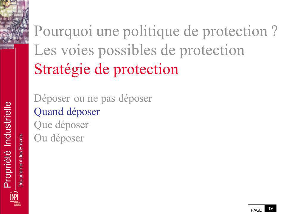 Pourquoi une politique de protection