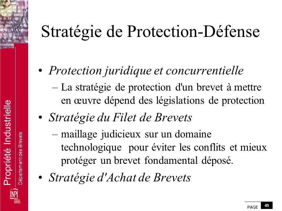 Stratégie de Protection-Défense