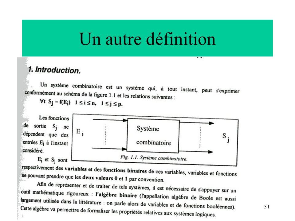 Un autre définition CNRIUT 2007, Thionville
