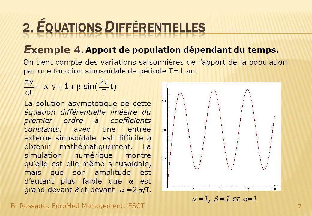 2. éQUATIONs Différentielles