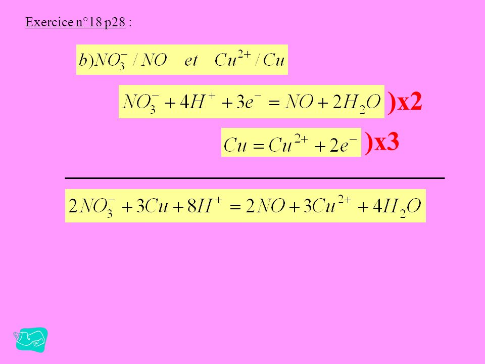 Exercice n°18 p28 : )x2 )x3