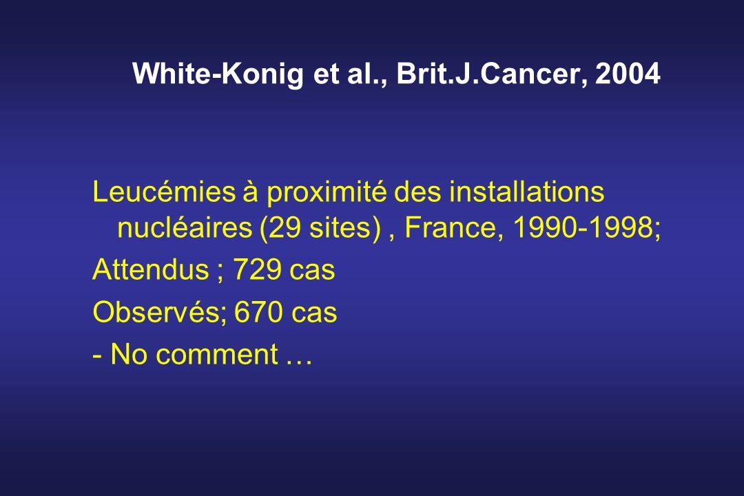 White-Konig et al., Brit.J.Cancer, 2004