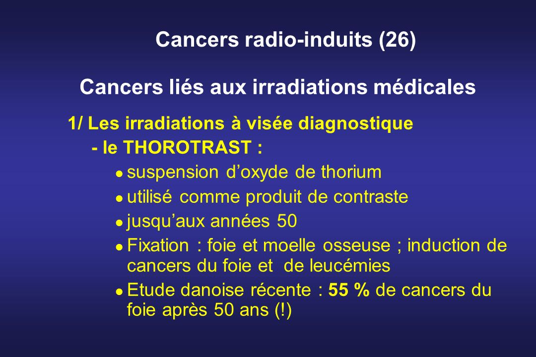 Cancers radio-induits (26)