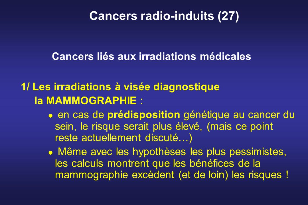 Cancers radio-induits (27)