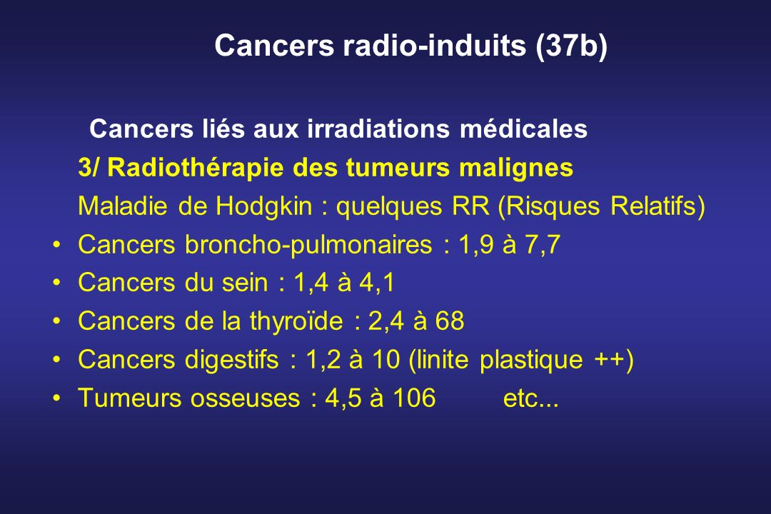 Cancers radio-induits (37b)