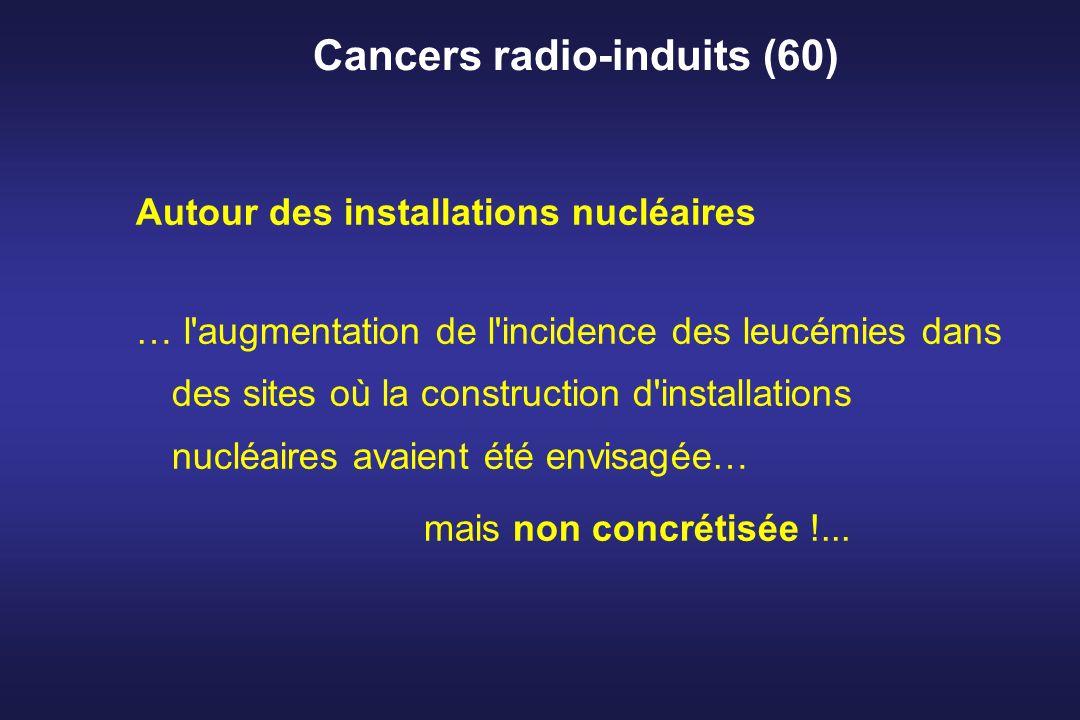 Cancers radio-induits (60)