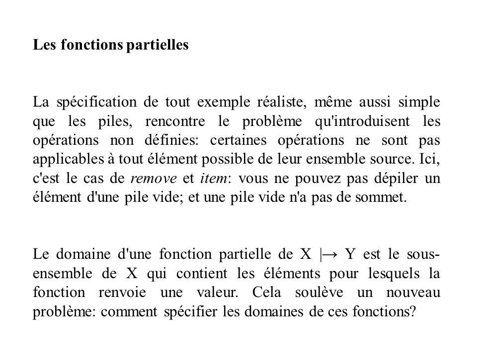 Les fonctions partielles