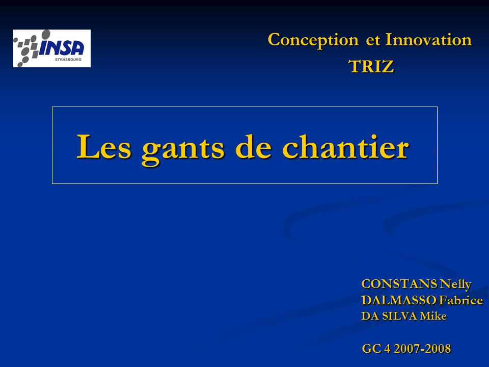 Conception et Innovation
