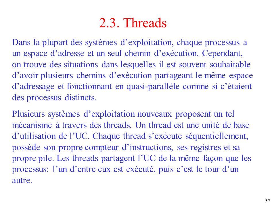 2.3. Threads