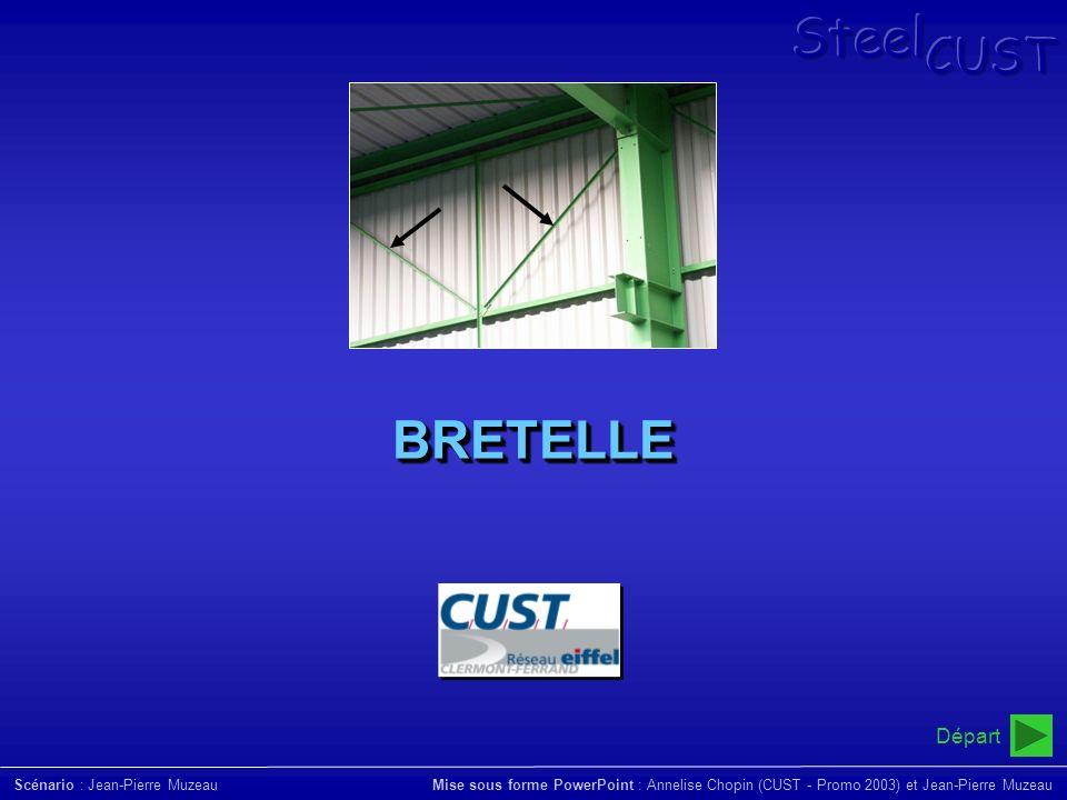 BRETELLE Départ SteelCUST