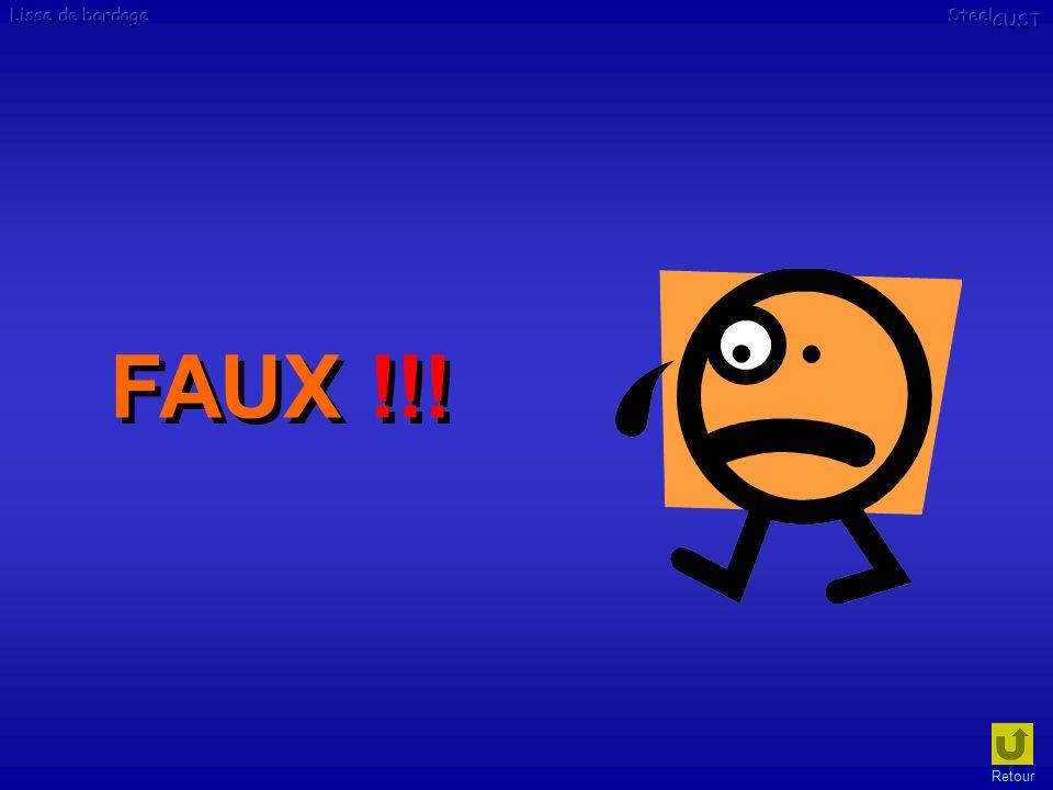 FAUX !!! Retour