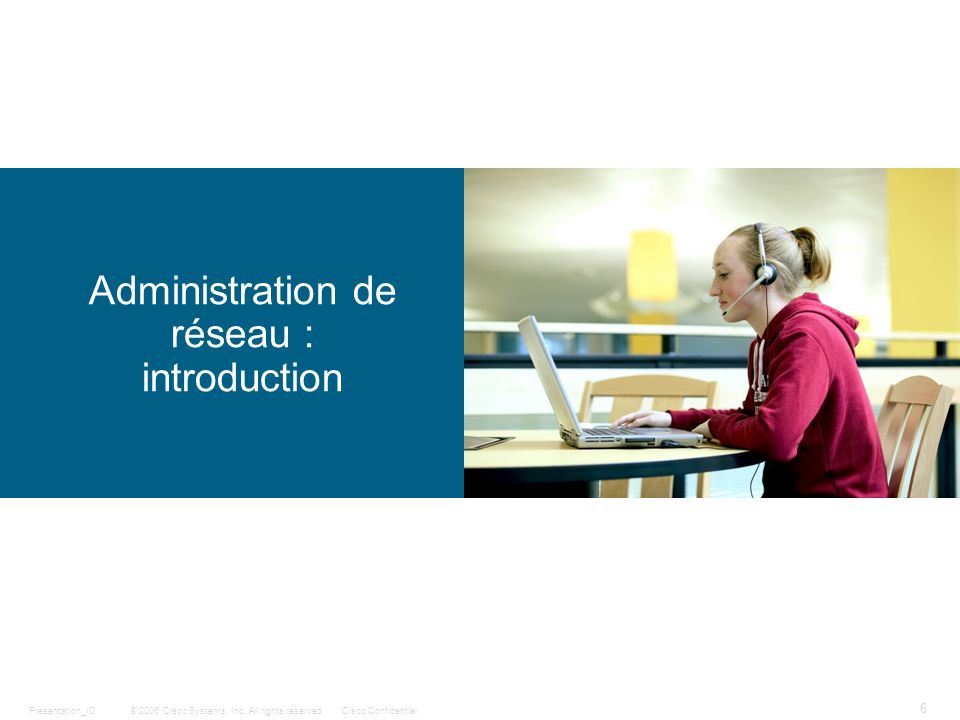 Administration de réseau : introduction