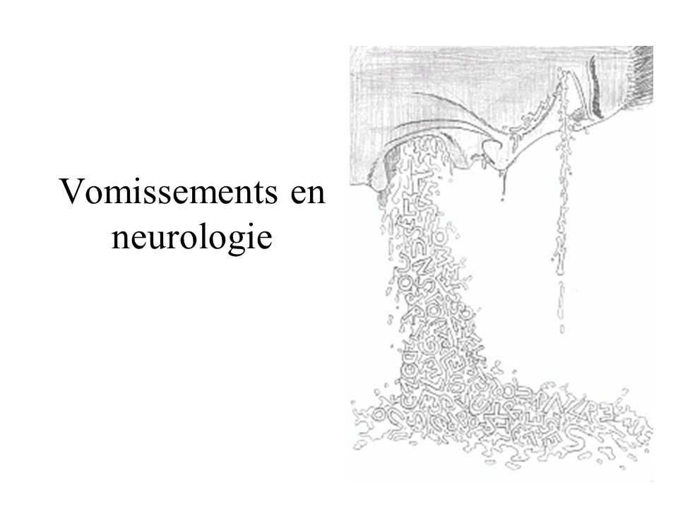 Vomissements en neurologie