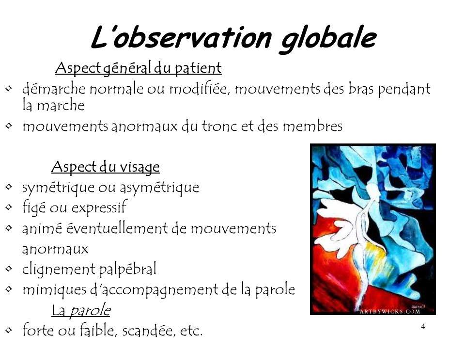L'observation globale
