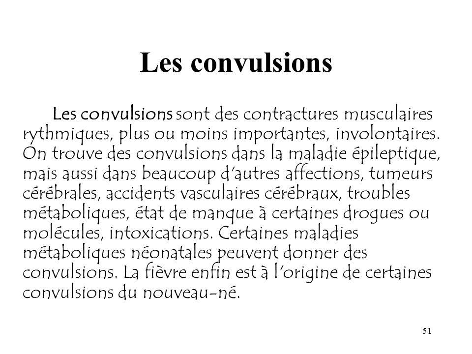 Les convulsions