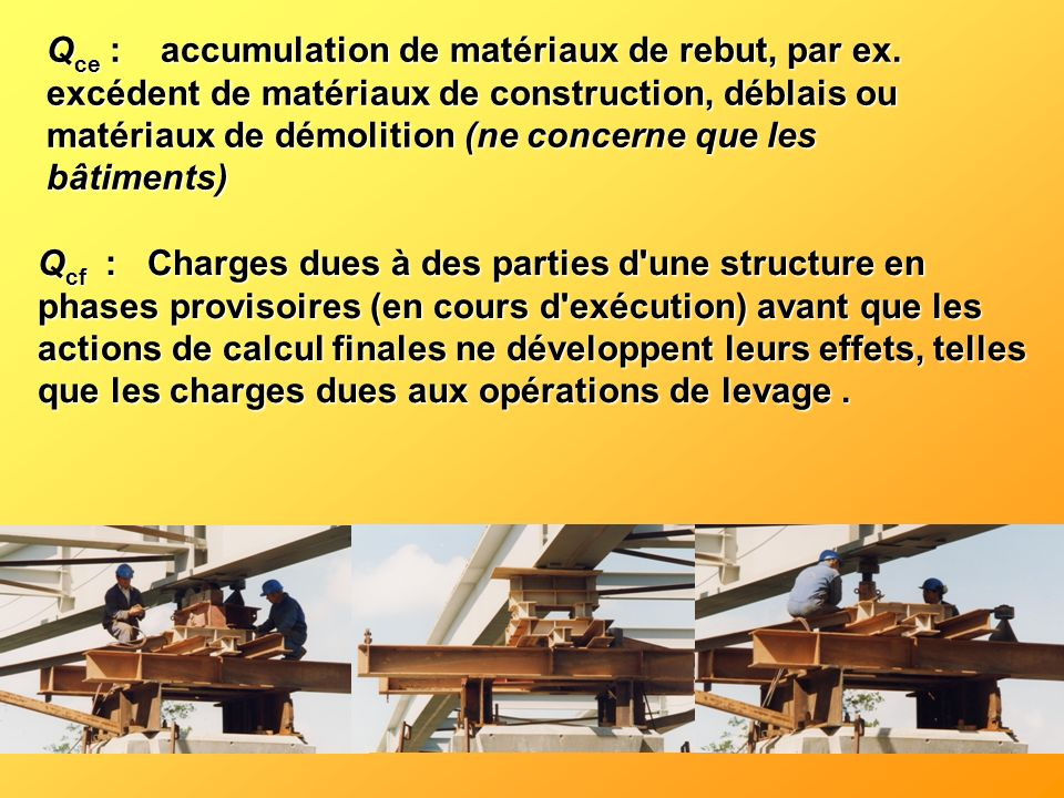 Qce : accumulation de matériaux de rebut, par ex