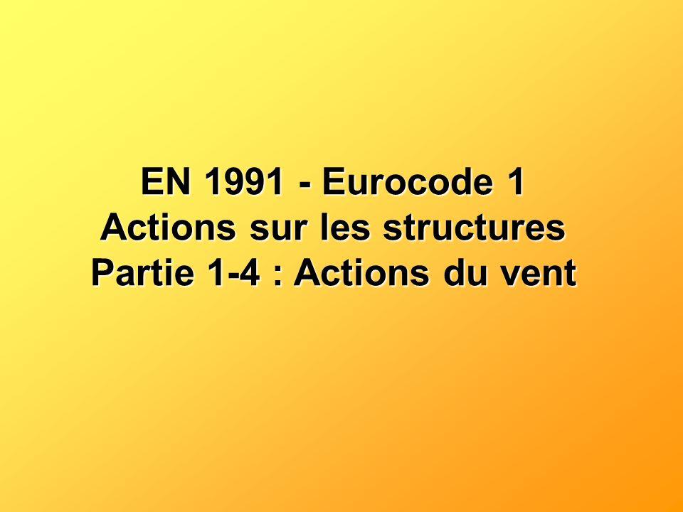 Actions sur les structures Partie 1-4 : Actions du vent