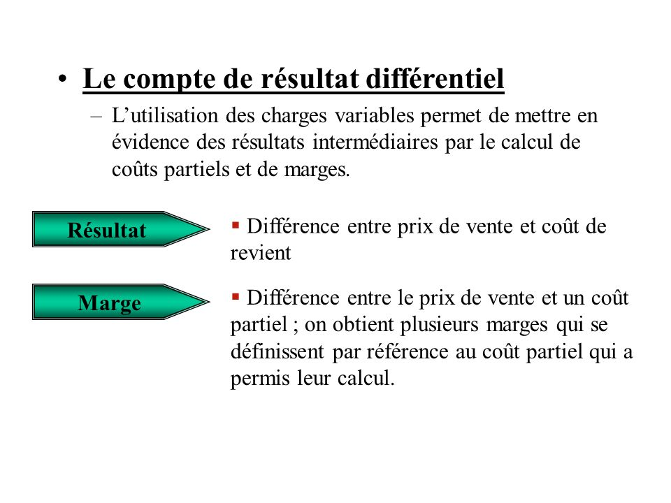 Comptabilit analytique ppt video online t l charger for Cout permis a