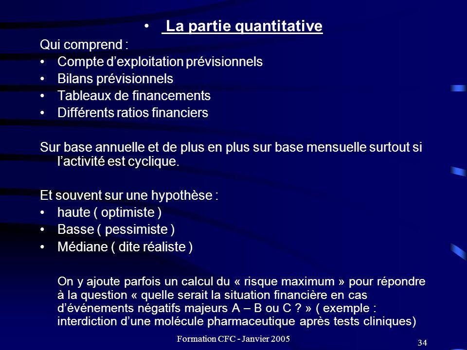 La partie quantitative